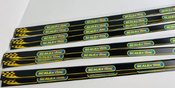 20x Scalextric Shelf POS Display Strips 100cm Length Each with Self Adhesive Backing - NEW P&P Group