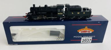 Bachmann 32-830 OO Gauge LMS Black Ivatt Boxed P&P Group 1 (£14+VAT for the first lot and £1+VAT for