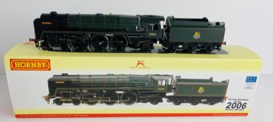 Hornby R2562 OO Gauge Britannia Boxed P&P Group 1 (£14+VAT for the first lot and £1+VAT for