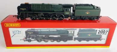 Hornby OO Gauge 9F Evening Star Boxed P&P Group 1 (£14+VAT for the first lot and £1+VAT for