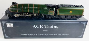 Ace Trains O Gauge Sir Nigel Gresley BR 60007 Class A4 Boxed P&P Group 2 (£18+VAT for the first