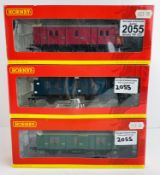 3x Hornby OO Gauge Coaches - CCT & Maunsell's - All Boxed P&P Group 1 (£14+VAT for the first lot and