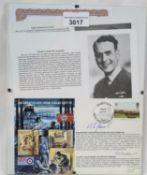 Stalag Luft III escapees signatures of Squadron Leader Bertram Arthur James MC and Flight Lieutenant