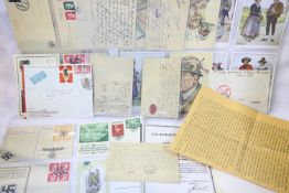 Collection of German Third Reich and WWII type postcards, mostly unused. P&P Group 1 (£14+VAT for