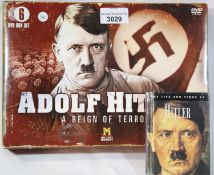 Adolf Hitler A Reign of Terror 6 DVD set and a Life and Times book. P&P Group 2 (£18+VAT for the