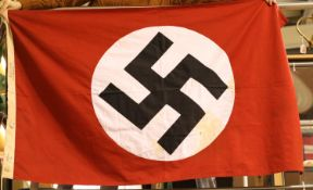 German Third Reich type SA party flag of three piece construction, 150 x 90 cm. P&P Group 1 (£14+VAT