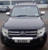 2007 Mitsubishi Shogun 210,000 miles. MOT failure. Top of the range Diamond version with BOSE audio.