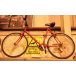 Gents specialised Hard Rock mountain bike 21 speed, 22'' frame. Not available for in-house P&P