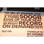 Boxed Sky + HD box (no remote). Not available for in-house P&P