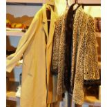 Two ladies coats, including a Varteks cashmere coat. Not available for in-house P&P