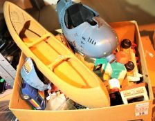 Quantity of childrens toys including Action Man, SML Tonka toy, diecast cars etc. Not available