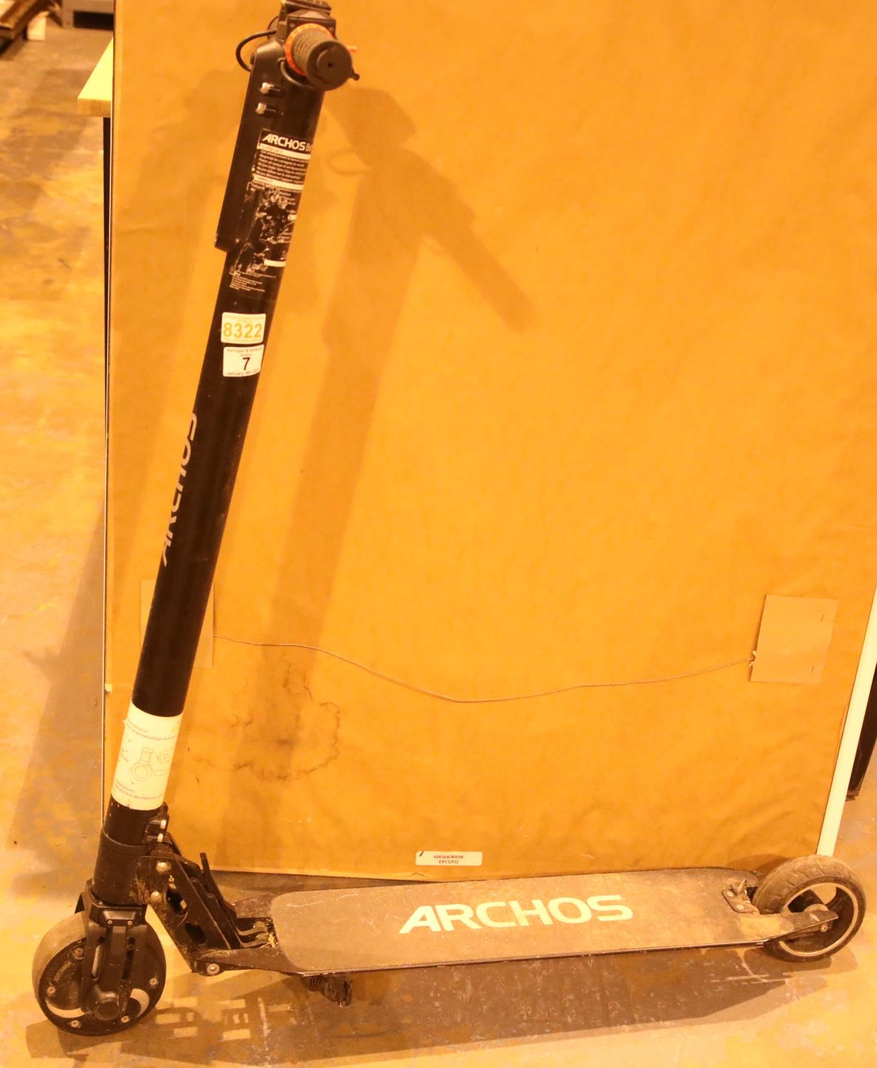 Archos bolt electric scooter lacking charger. Not available for in-house P&P
