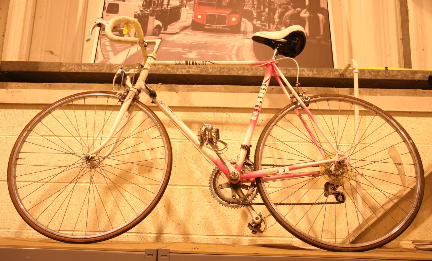Gents Raleigh Mercury 12 speed racing bike, 24'' frame. Not available for in-house P&P