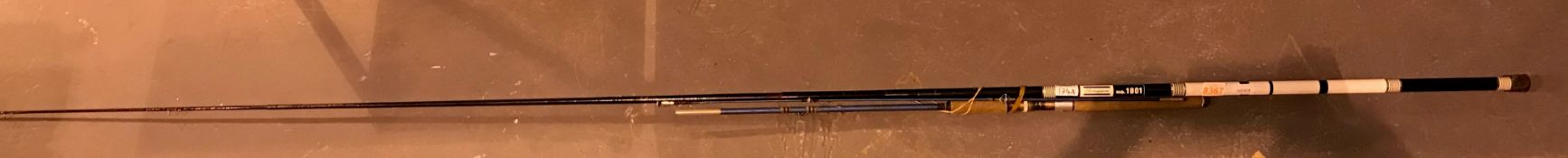 Shakespeare no 1801 fishing rod and one other but not complete. Not available for in-house P&P