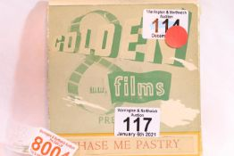 """Golden Films 8mm film, """"Chase me Pastry"""". P&P Group 1 (£14+VAT for the first lot and £1+VAT for"""