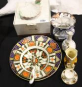 Quantity of mixed ceramics including boxed Nao, Old Country Roses etc. P&P Group 3 (£25+VAT for