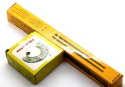 Boxed new old stock ring sizer mandrel stick and a boxed set of ring sizers. P&P Group 1 (£14+VAT