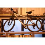 "Matts Merida 20 front front suspension 24 speed mountain bike with 21"" frame. Not available for in-"