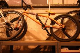 "Muddyfox single speed 10"" framed BMX bike. Not available for in-house P&P, contact Paul O'Hea at"