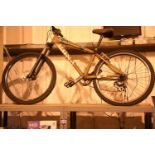 "Kona Shred 8 speed front suspension mountain bike with 15"" frame. Not available for in-house P&P,"