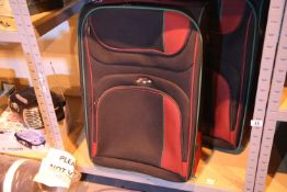Two large expandable Antler suitcases. Not available for in-house P&P, contact Paul O'Hea at
