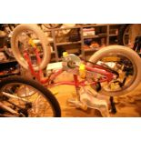 """Girls Mongoose (Missygoose) single speed 12"""" framed bike. Not available for in-house P&P, contact"""