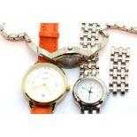 Three ladies wristwatches, to include Sekonda, Citron, Quartz. P&P Group 1 (£14+VAT for the first