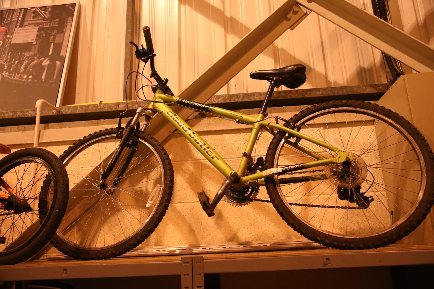 """Claud Butler (Blackhawk) 21 speed front suspension 14"""" framed mountain bike. Not available for in-"""