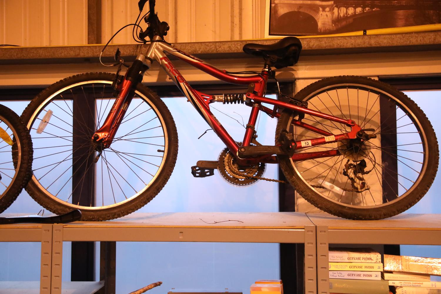 """Apollo F526 dual suspension 21 speed mountain bike with 16"""" frame. Not available for in-house P&P,"""