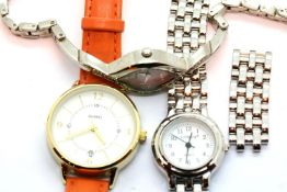 Three ladies wristwatches, to include Sekonda, Citron, Quartz. P&P Group 1 (£14+VAT for the first