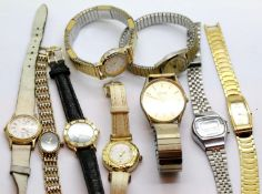 Quantity of ladies fashion and dress watches. P&P Group 1 (£14+VAT for the first lot and £1+VAT