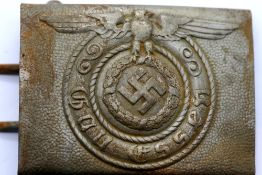 German WWII type SS belt buckle. P&P Group 1 (£14+VAT for the first lot and £1+VAT for subsequent
