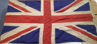 British WWII type Union flag, bearing British War Office stamp and dated 1939, 90 x 150 cm. P&P