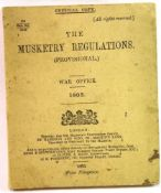 The 1903 War Office Musketry Regulations (Provisional). P&P Group 1 (£14+VAT for the first lot