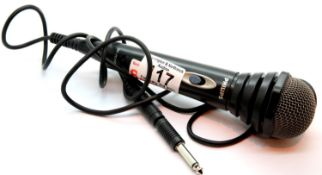 Philips SBC MD110 microphone with additional jack plug. P&P Group 1 (£14+VAT for the first lot