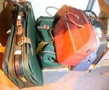 Collection of mixed bags and suitcases. Not available for in-house P&P, contact Paul O'Hea at