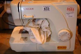 Singer sewing machine (no power lead). Not available for in-house P&P, contact Paul O'Hea at