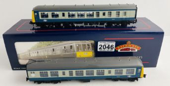 Bachmann 32-902 Class 108 2 Car DMU Blue/Grey Boxed with Papers P&P Group 1 (£14+VAT for the first
