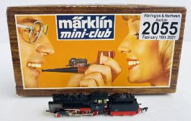 Marklin Mini Club Z Gauge 8803 Class BR 24 DB with Light Boxed P&P Group 1 (£14+VAT for the first