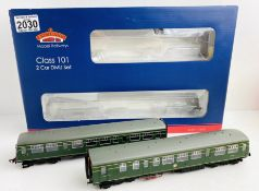 Bachmann # 31-627 BR 101 DMU Green Small Yellow Panel Boxed P&P Group 1 (£14+VAT for the first lot