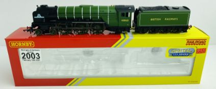 Hornby R3663TTS DCC Digital (Tested OK) #09 Tornado WITH SOUND Boxed with Instructions & Detail Pack