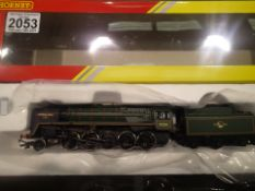 Hornby R3288 2-10-0 'Evening Star' 9F Boxed with Instructions P&P Group 1 (£14+VAT for the first lot