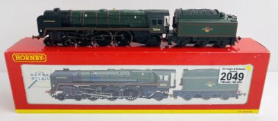 Hornby R2180 'Clive of India' Britannia BR Boxed wih Instructions & Detail Pack P&P Group 1 (£14+VAT