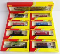 9x Hornby Railroad Assorted Wagons & Coach All Boxed. P&P Group 2 (£18+VAT for the first lot and £