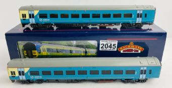 Bachmann 31-511 'Arriva' 158 DMU Boxed P&P Group 1 (£14+VAT for the first lot and £1+