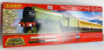 Hornby R1183 'Master of the Glens' Train Set Boxed with Instructions With upgraded Black/Red