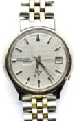 Gents Seiko Automatic BX wristwatch on a stainless steel bracelet. P&P Group 1 (£14+VAT for the