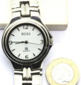 Ladies Rojas quartz wristwatch. P&P Group 1 (£14+VAT for the first lot and £1+VAT for subsequent