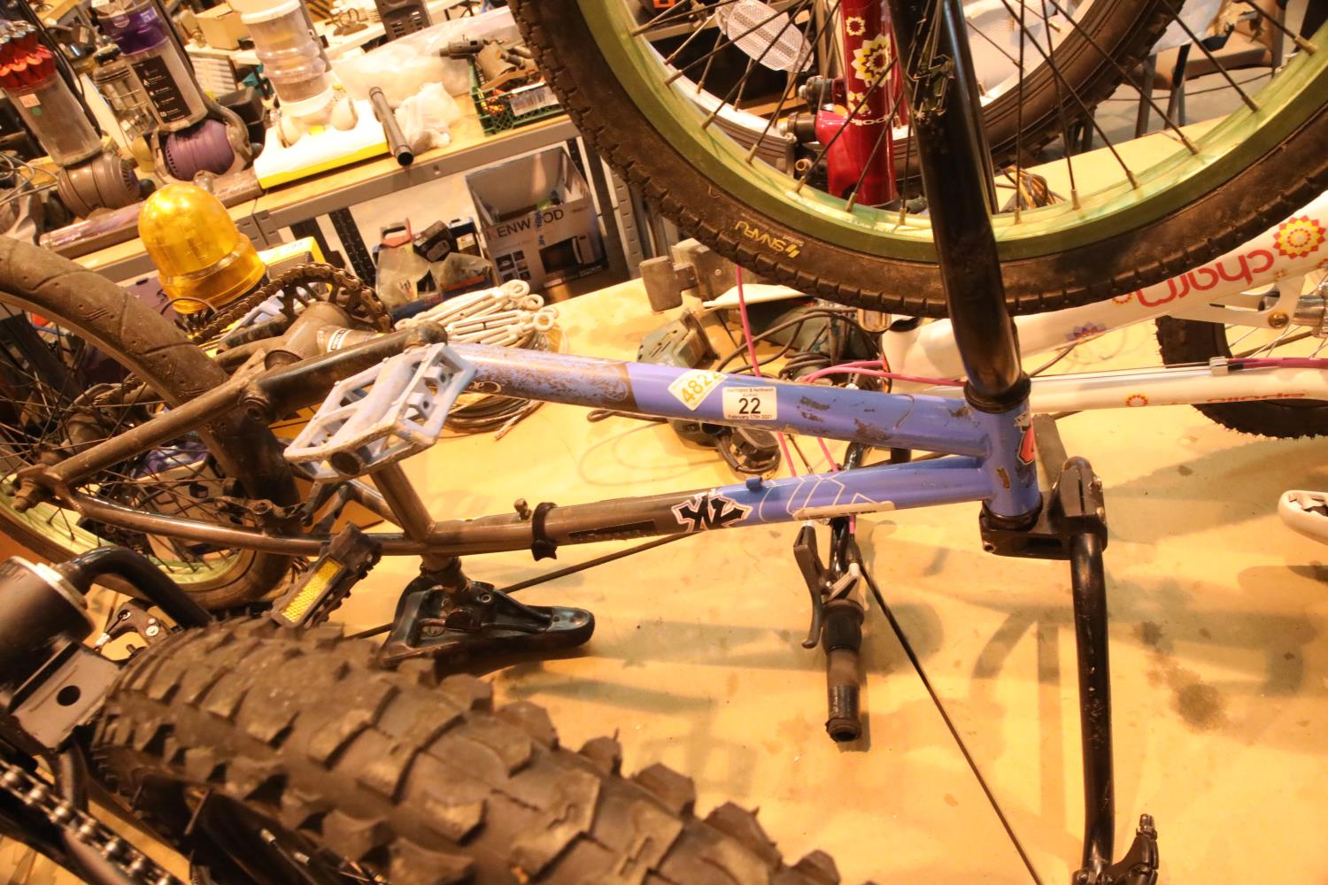 """Mongoose BMX bike with 20"""" wheels. Not available for in-house P&P, contact Paul O'Hea at Mailboxes"""