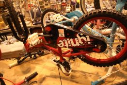 """Huffy Ignite child's mountain bike with 16"""" wheels. Not available for in-house P&P, contact Paul O'"""